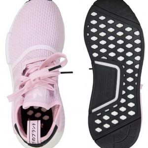 Adidas NMD R1 pink womens sneakers size 8